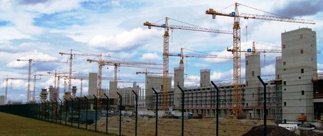 Baustelle-Hochbau-Ingustriebau